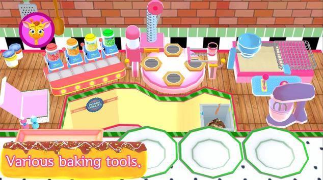 美味的甜甜圈工厂