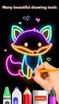 How to draw Glow Zoo截图1