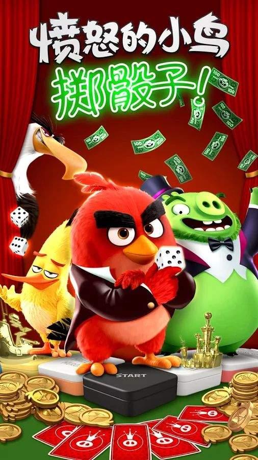 愤怒的小鸟:掷骰子截图0