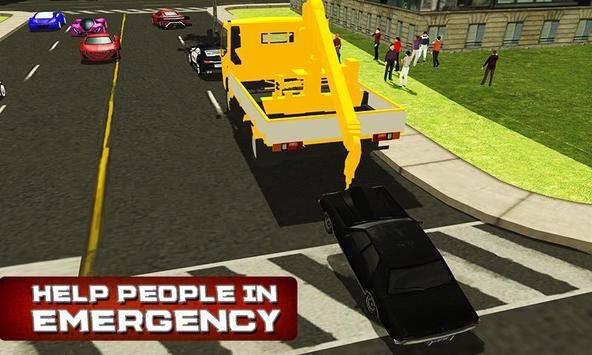 City Tow Truck Simulator 3D截图0