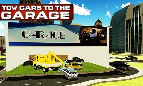 City Tow Truck Simulator 3D截图1