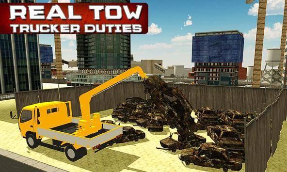 City Tow Truck Simulator 3D截图2