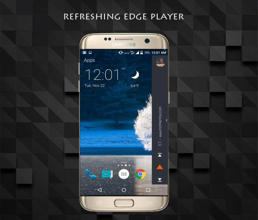 屏幕边缘音乐播放器:Edge截图1