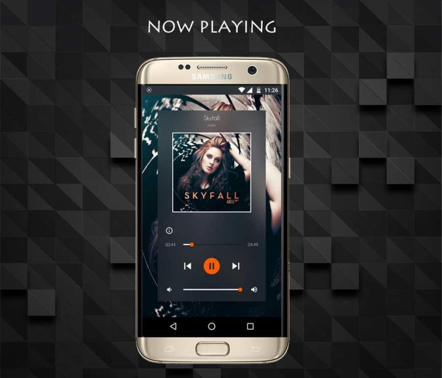 屏幕边缘音乐播放器:Edge截图2