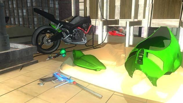 Fix My Bike: 3D Mechanic FREE截图5