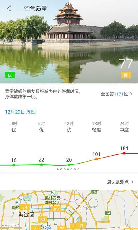 中国天气通截图3