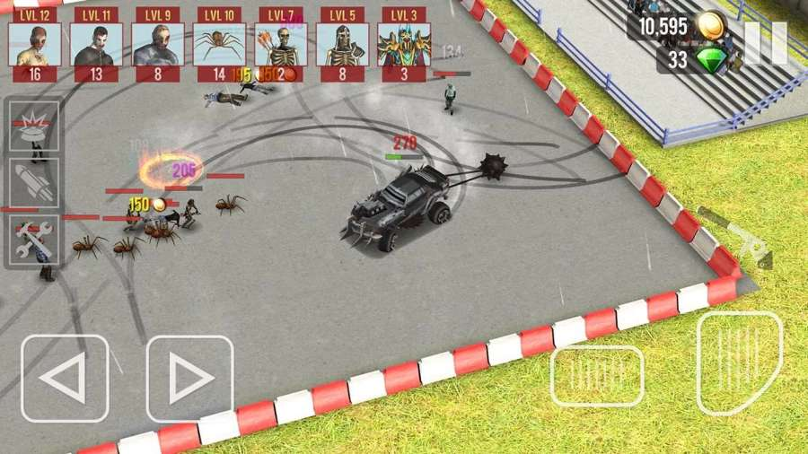 僵尸撞击车截图3