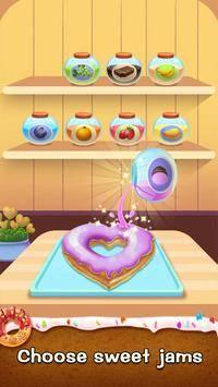 Make Donut - Kids Cooking Game截图1