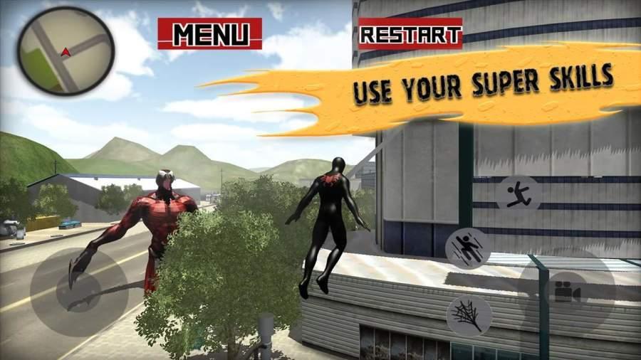 蜘蛛英雄战斗截图2