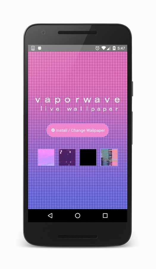 蒸汽波动态壁纸:Vaporwave截图0