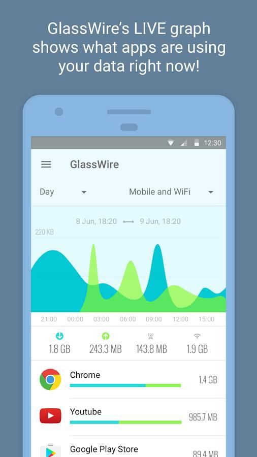 GlassWire截图0