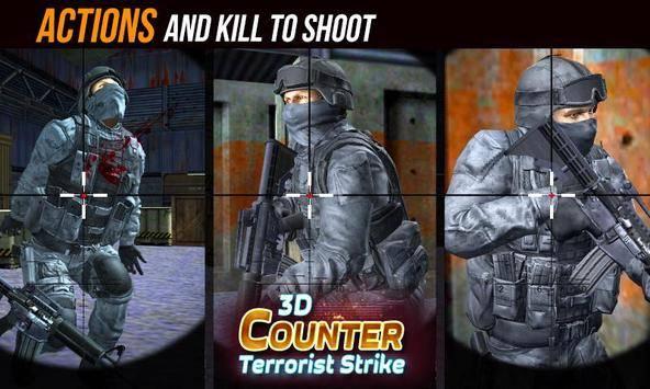 Counter Terrorist Strike 3D截图3