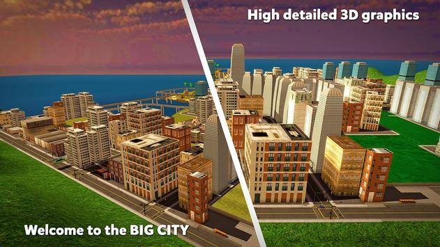 City Taxi Simulator截图2