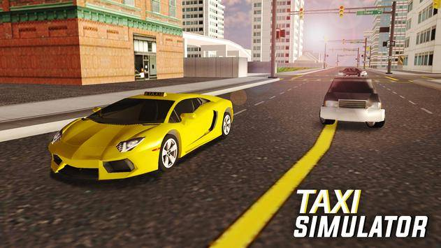 City Taxi Simulator截图7