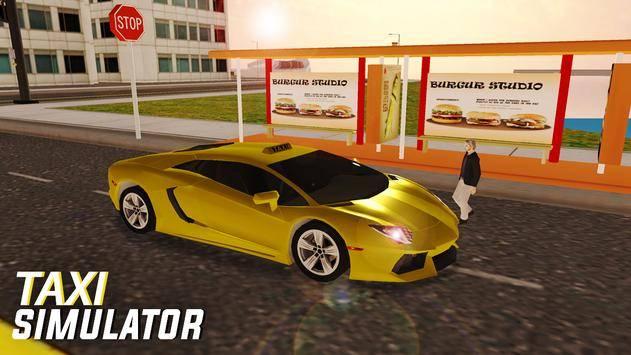 City Taxi Simulator截图8