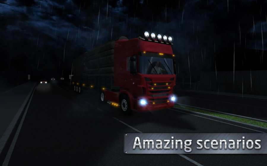欧洲卡车司机