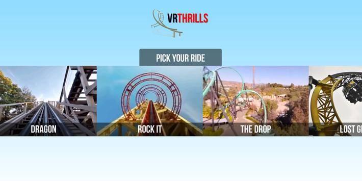 VR Thrills: Roller Coaster 360截图0