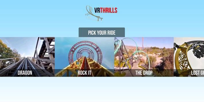 VR Thrills: Roller Coaster 360截图10