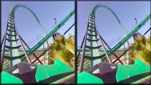 VR Thrills: Roller Coaster 360截图2