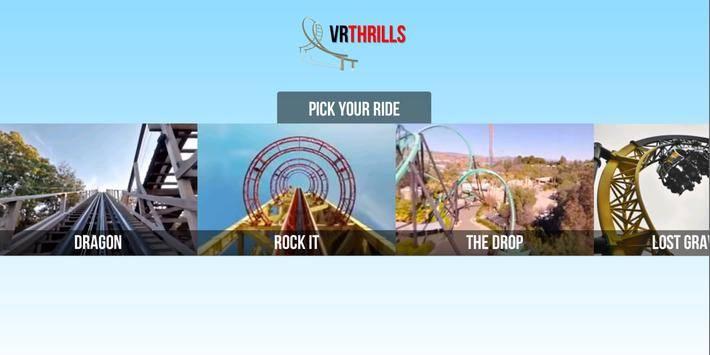VR Thrills: Roller Coaster 360截图5