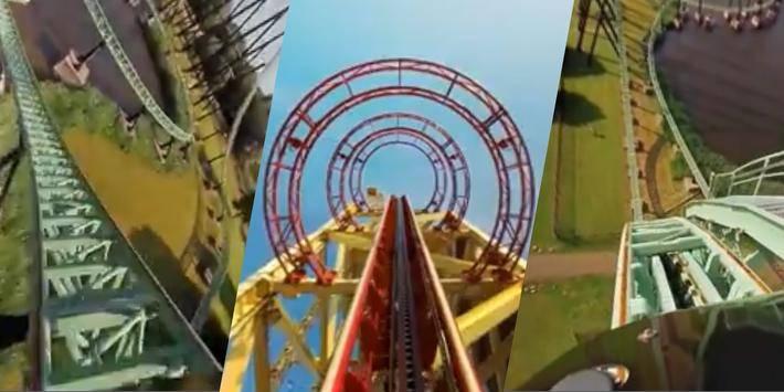 VR Thrills: Roller Coaster 360截图6