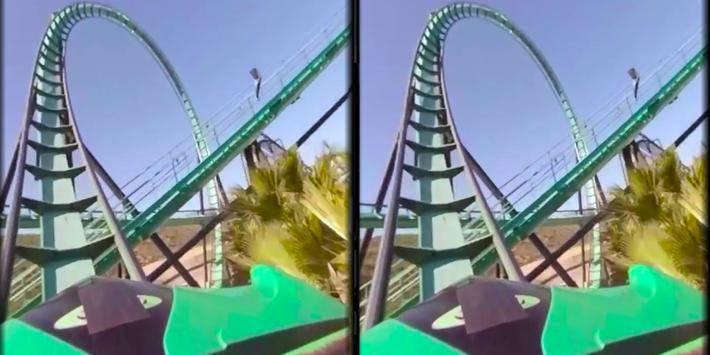 VR Thrills: Roller Coaster 360截图7
