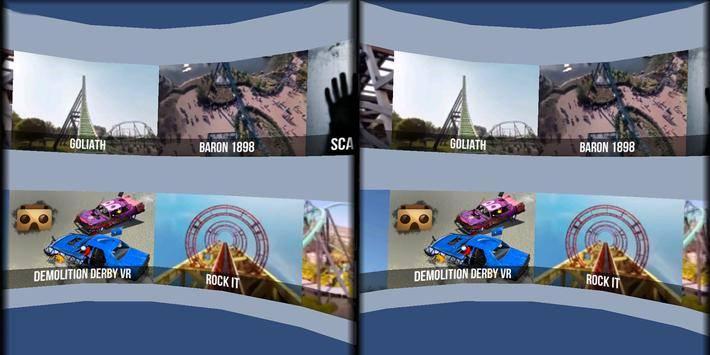VR Thrills: Roller Coaster 360截图8