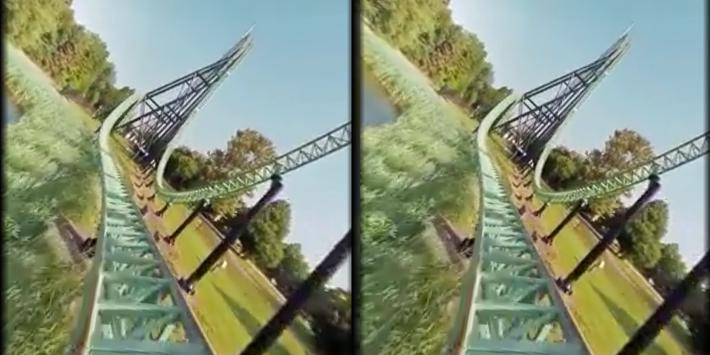 VR Thrills: Roller Coaster 360截图9