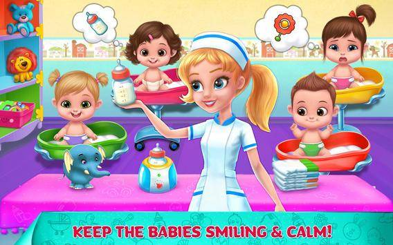 Crazy Nursery - Baby Care截图1