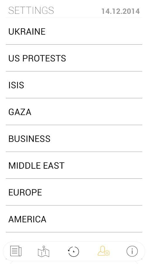 世界冲突地图:Liveuamap截图3
