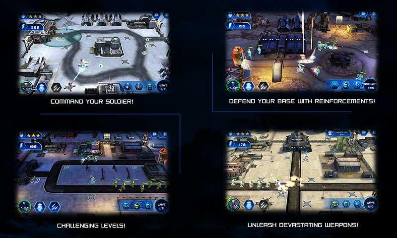入侵者:机器人防御