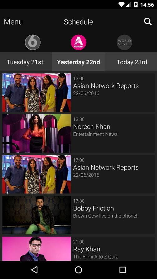 BBC iPlayer 广播截图2