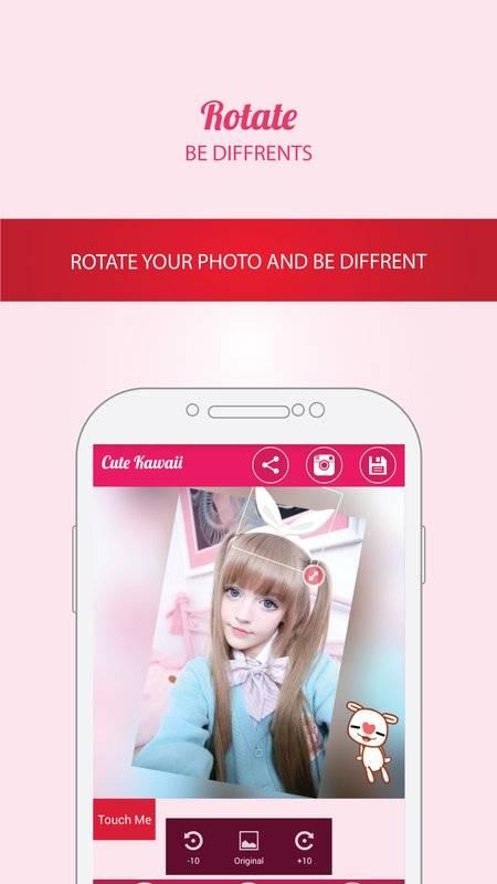 Cute Kawaii Photo Sticker截图0
