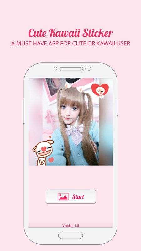 Cute Kawaii Photo Sticker截图2