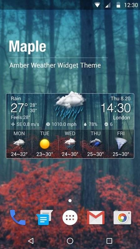 天氣預報桌面小工具,惡劣天氣警示,詳盡天氣資訊截图6