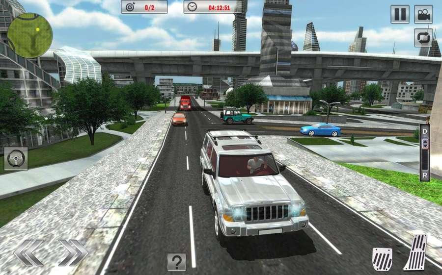 Offroad Jeep Driving Sim 2017截图4