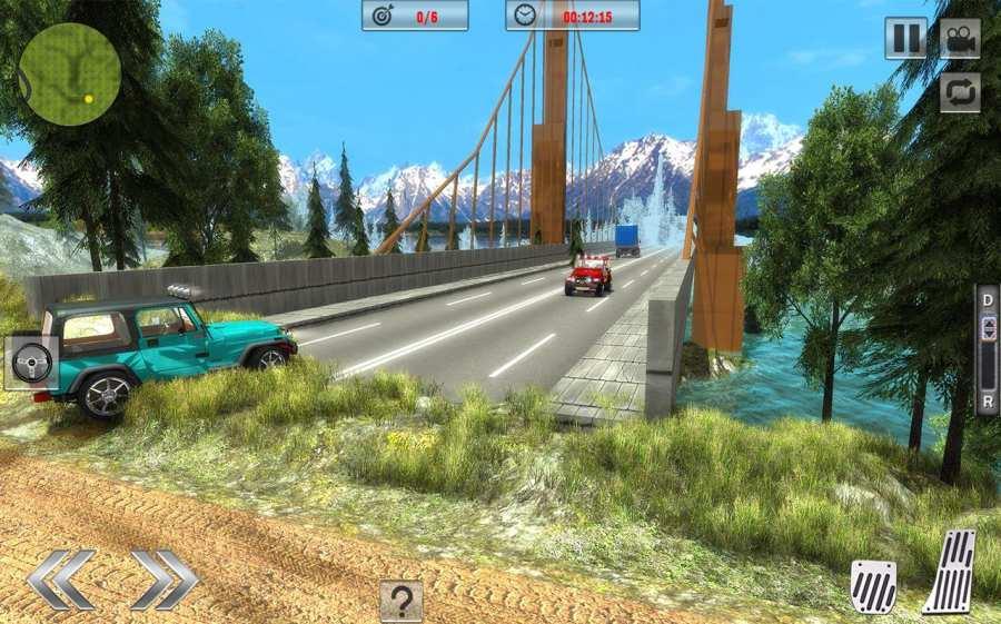 Offroad Jeep Driving Sim 2017截图5