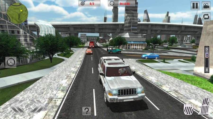 Offroad Jeep Driving Sim 2017截图7