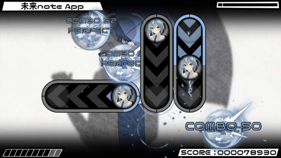 Beat Beat Vocaloid Reborn截图1