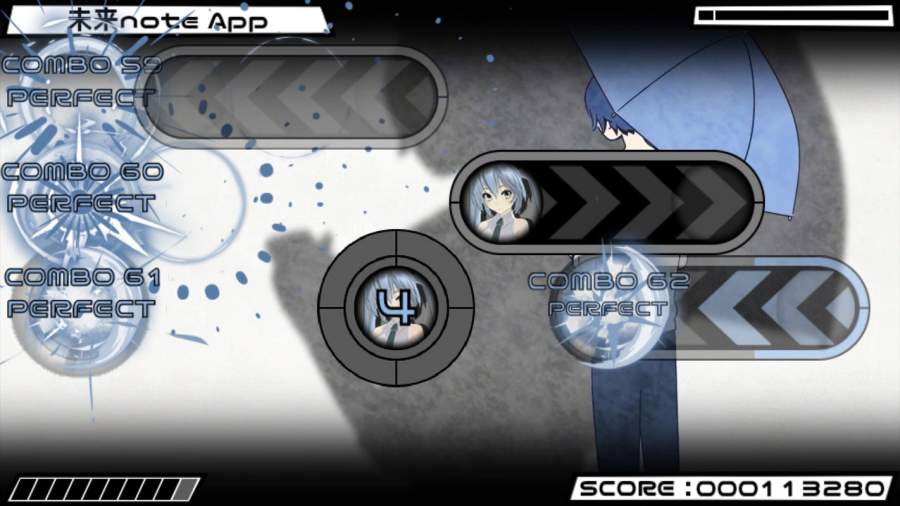 Beat Beat Vocaloid Reborn截图6