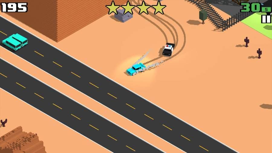 像素公路狂飙 Smashy Road:截图1