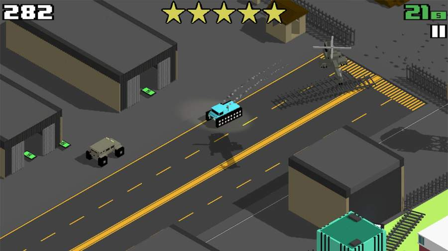 像素公路狂飙 Smashy Road:截图3