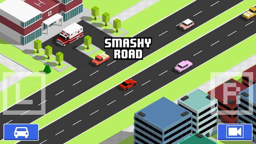 像素公路狂飙 Smashy Road:截图4
