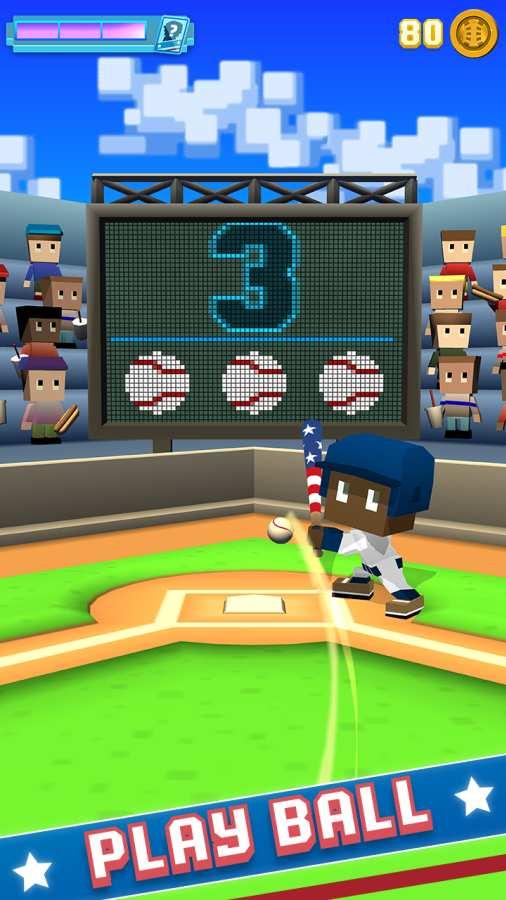 方块棒球截图0
