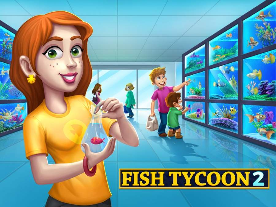 Fish Tycoon 2 Virtual Aquarium截图1