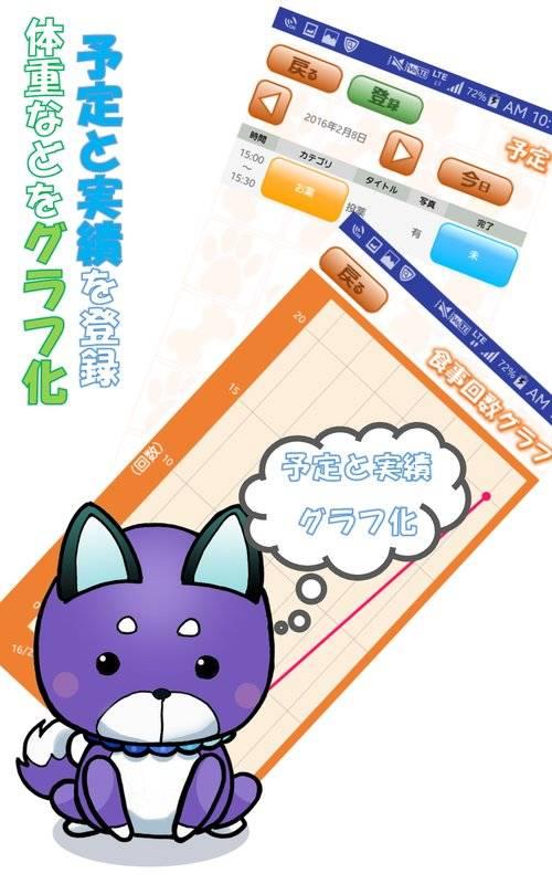 ペット健康管理アプリ「PetLife」 ペットライフ截图1