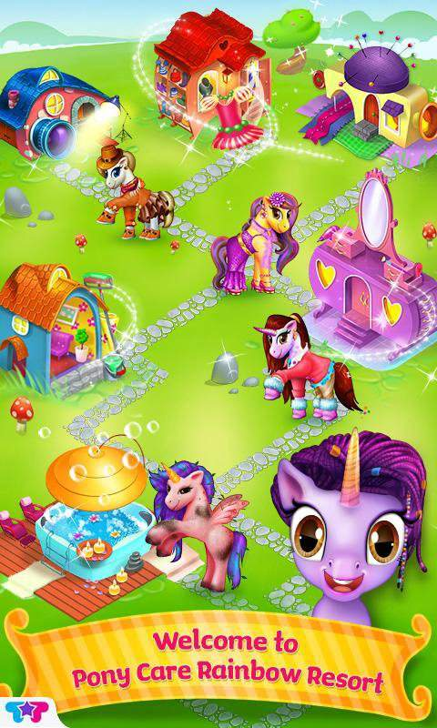 Pony Care Rainbow Resort截图4