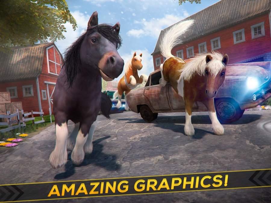 我的 小 小馬 . 免費 魔法 馬兒 賽馬 游戲 的 女孩