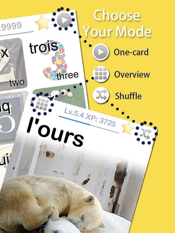 LingoCards法语单字卡-学习法文发音、法国旅行短句截图3