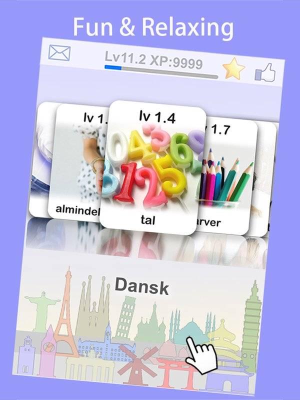 LingoCards游学丹麦语-丹麦文单字卡游戏(免费版)截图6
